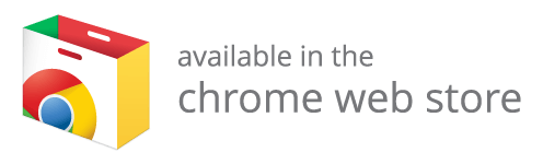 Also available in the chrome web store