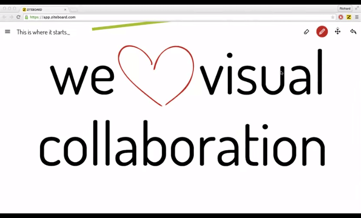 Visual collaboration basics